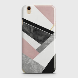 Oppo F1 Plus Geometric Luxe Marble Case