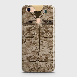 OPPO F5 Army Costume Case