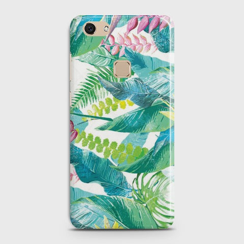 VIVO V7 Retro Palm Leaves Case