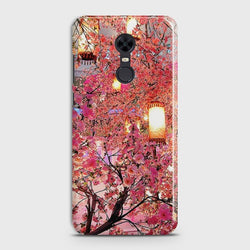XIAOMI REDMI 5 Pink blossoms Lanterns Case