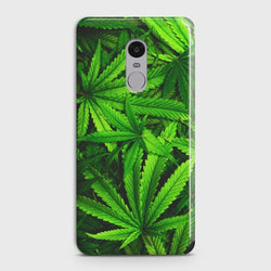 XIAOMI REDMI NOTE 4 Green Leaves Case