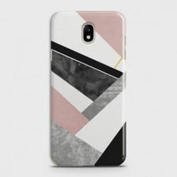 SAMSUNG GALAXY J7 (2017) Geometric Luxe Marble Case