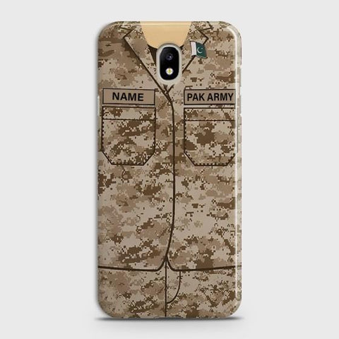 SAMSUNG GALAXY J5 (2017) Army Costume With Custom Name Case