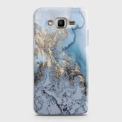 SAMSUNG GALAXY J3 2016 (J320) Golden Blue Marble Case