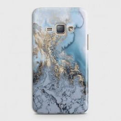 SAMSUNG GALAXY J1 2016 (J120) Golden Blue Marble Case