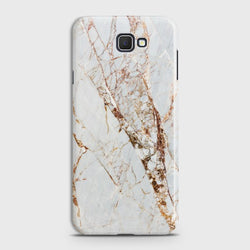 SAMSUNG GALAXY J5 PRIME White & Gold Marble Case