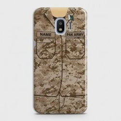 SAMSUNG GALAXY GRAND PRIME PRO Army Costume With Custom Name Case
