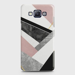 SAMSUNG GALAXY E5 Geometric Luxe Marble Case
