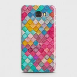 GALAXY C5 Colorful Mermaid Scales Case