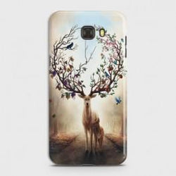 SAMSUNG GALAXY C7 PRO Blessed Deer Case