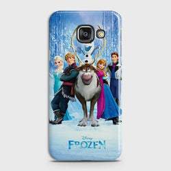 SAMSUNG GALAXY A7 (2016) Frozen World Case