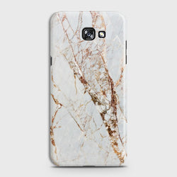 SAMSUNG GALAXY A5 (2017) White & Gold Marble Case