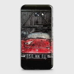 SAMSUNG GALAXY A5 (2017) Old Rusty Car Case