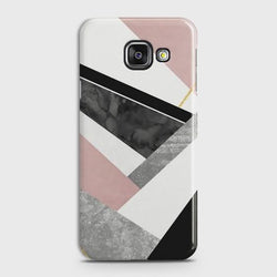 SAMSUNG GALAXY A5 2016 (A510) Geometric Luxe Marble Case