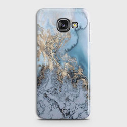 SAMSUNG GALAXY A3 2016 (A310) Golden Blue Marble Case