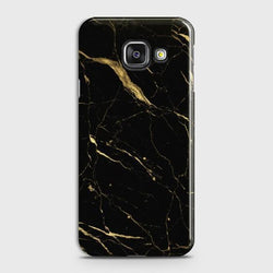 SAMSUNG GALAXY A3 2016 (A310) Classic Golden Black Marble Case