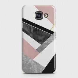 SAMSUNG GALAXY A3 2016 Geometric Luxe Marble Case