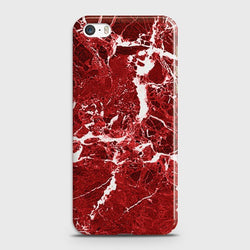 IPHONE 5/5C/5S Deep Red Marble Case