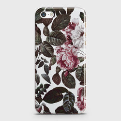 IPHONE 5/5C/5S Shadow Blossom Vintage Flowers Case