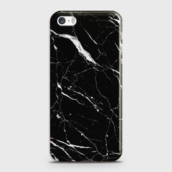 IPHONE 5/5C/5S Trendy Black Marble  Case