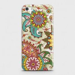 IPHONE 5/5C/5S Seamless Paisley Flowers Case
