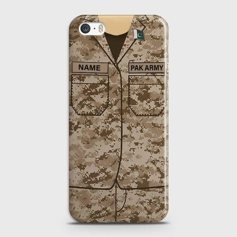 iPhone 5 Army shirt with Custom Name Case