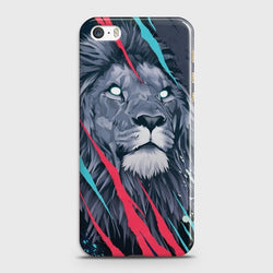 IPHONE 5/5C/5S Abstract Animated Lion Case