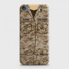 IPOD TOUCH 6 Army Costume With Custom Name Case