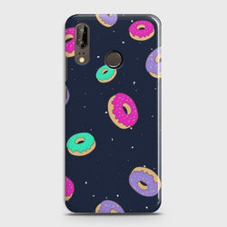 Huawei P20 Colorful Donuts Case