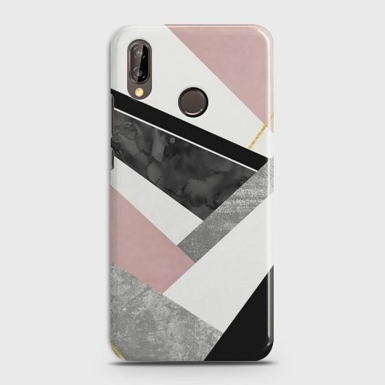 Huawei P20 Lite Luxury Marble design Case