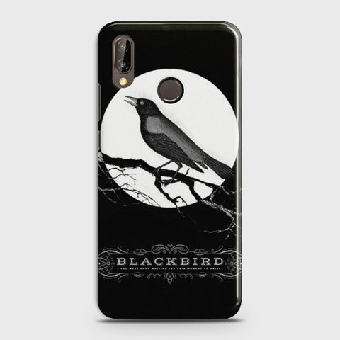 HUAWEI P20 Lite Rendering Black Bird Case