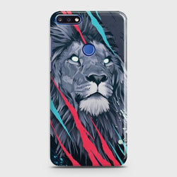 HUAWEI HONOR 7C Abstract Animated Lion Case