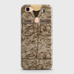 OPPO F7 Army Costume Case