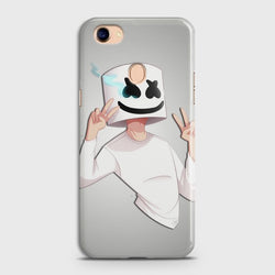 OPPO F7 Marshmello Face Case