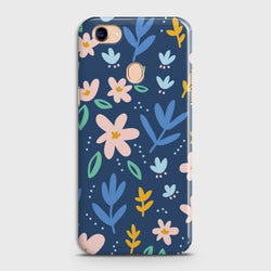 OPPO F7 Colorful Flowers Case