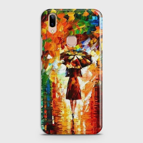 VIVO V9/V9 Youth Girl with Umbrella Case