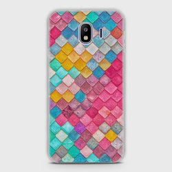 SAMSUNG GALAXY J2 PRO 2018 Colorful Mermaid Scales Case