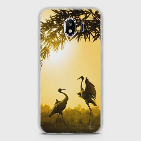 SAMSUNG GALAXY J2 PRO 2018 Lovely SandhillCrane Dance Case