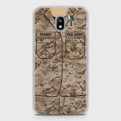 SAMSUNG GALAXY J2 PRO 2018 Army Costume With Custom Name Case
