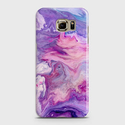 SAMSUNG GALAXY S6 Chic Liquid Marble Case