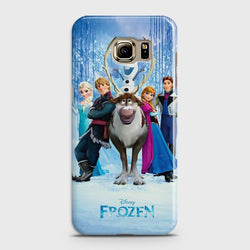 SAMSUNG GALAXY S6 Frozen World Case