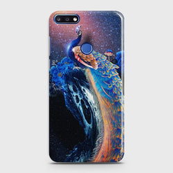 Huawei Honor 7A Peacock Diamond Embroidery Case
