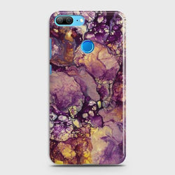 HUAWEI HONOR 9 LITE Purple Agate Marble Case