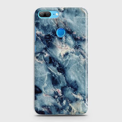 HUAWEI HONOR 9 LITE Blue Marble Stone Case