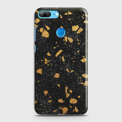 HUAWEI HONOR 9 LITE Stone Marble Black Case