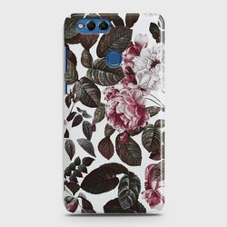 HUAWEI HONOR 7X Shadow Blossom Vintage Flowers Case
