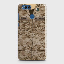 HUAWEI HONOR 7X Army Costume With Custom Name Case