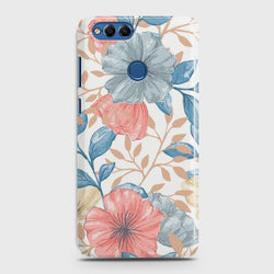 HUAWEI HONOR 7X Seamless Flower Case