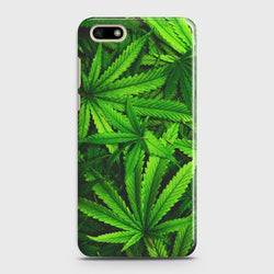 HUAWEI Y5 PRIME 2018 Green Leaves Case