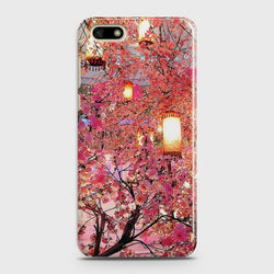 HUAWEI Y5 PRIME 2018 Pink blossoms Lanterns Case